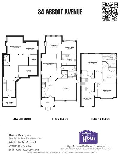 Real Estate Floor Plan Real Estate Datasheet In Toronto Houssmax